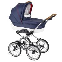 Детская коляска-люлька Navington Caravel на больших колесах